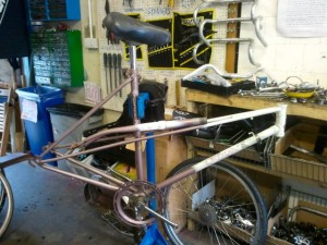 Frameset on stand